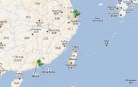 Shanghai to Hong Kong