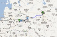 minsk to moscow