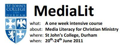 MediaLit Durham 2011