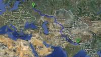 Moscow to kathmandu