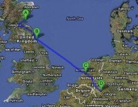 itinerary1_Leuchars_Newcastle_amsterdam_cologne