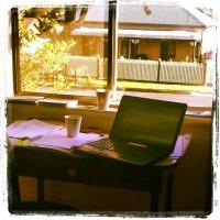 where I am writing
